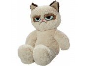HUNDELEKE, Grumpy Floppy Plush Cat