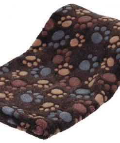 FLEECETEPPE Laslo 100×70cm. Dark Brown