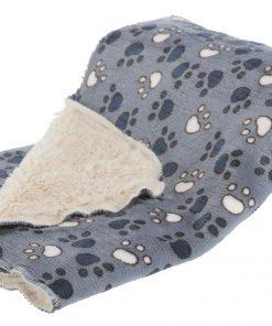 Tammy Blanket, 100 × 70 Cm, Blue/Beige