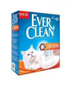 EVER CLEAN 10L. (Rød) Fast Acting