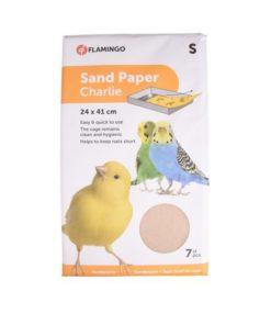 SANDPAPIR Flamingo, 7stk. 24x41cm.