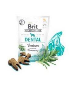 BRIT Dental, Functional Snack, Venison, 150g.