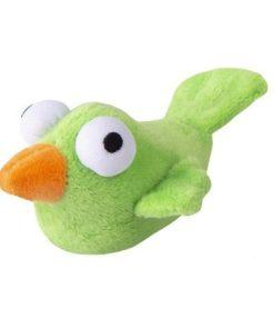 KATTELEKE Plush Bird Grønn 11.5X12