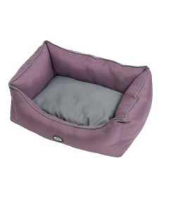 Buster Sofaseng 60X70Cm, Black Plum/Steel Grey
