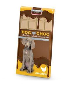 DOG CHOC ebi, Kyllingsmak, 100g.