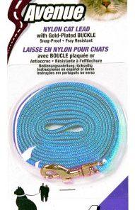 Koppel Nylon Lysblå 5mmx120cm Catit