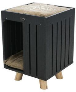 *Be Nordic Alva Kattehule, 36 × 51 × 36 Cm, Grå/Sand