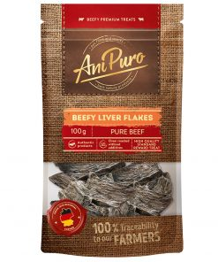 AniPuro Beef Liver Flakes, 100g