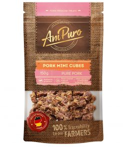 AniPuro Pork Mini Cubes 150gr