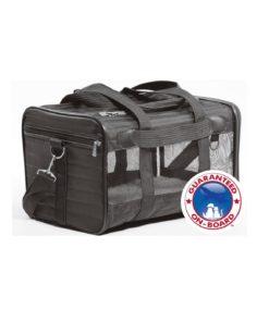 SHERPA DELUXE, Transportbag, S, 40x25x24cm. Svart