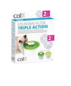 Catit Water Softening Filter Triple Action 2St
