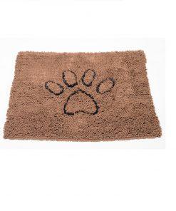 "DØRMATTE ""Dirty Dog"", Medium, 79x51cm, Brun"