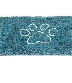 """DØRMATTE """"Dirty Dog"""", Medium, 79x51cm, Pacific blå"""