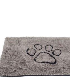 """DØRMATTE """"Dirty Dog"""", Medium, 79x51cm. Grå"""