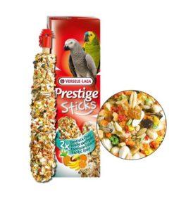 STICKS Prestige, Papegøye, 2stk. Exotic Fruit, 140g.