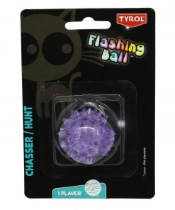 KATTELEKE Blinkende gummiball