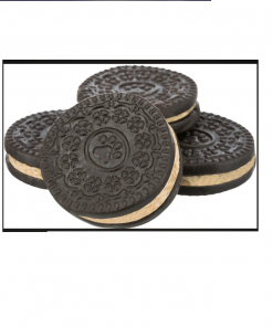 Black & White Cookies, Ø 4 Cm, 4 Stk./100 G