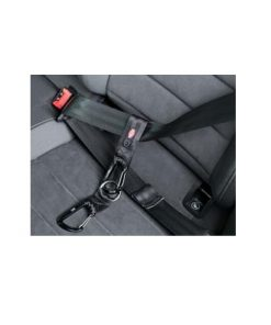 Universal Belt Strap,Mounteneer Carabiner, 30 Cm/38 Mm, Sort