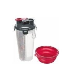 Fôr og VannContainer, Plastikk, 2 × 0.35 L/Ø11 × 23 Cm