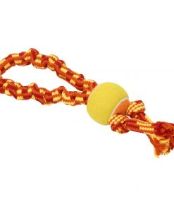 COLOUR BUNGEE ROPE Buster, Double Knot w/ball, 33cm.