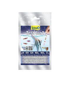 TEST 6i1 Tetra, 10stk. Gh/Kh/No2/No3/Ph/Cl2