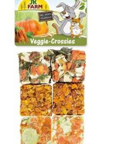 Jr Farm Veggie Crossies 100Gr