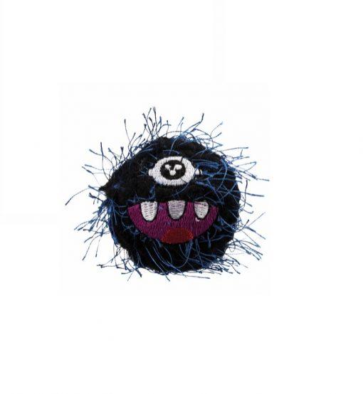 2 stk Monster Baller, Polyester/Plastik, Ø 5 Cm