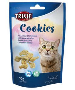 Cookies med laks og Catnip, 50 G