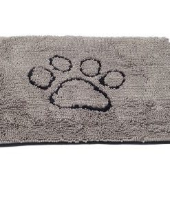 Dgs Dirty Dog Doormat Large 88X66Cm Grå