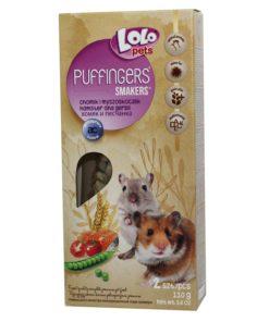 Hamster/ørkenrotte kräcker Puffingers 2-pkn