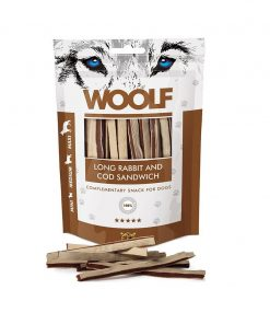 WOOLF Long Rabbit and Cod Sandwich 100g