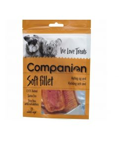 SOFT FILLET Companion, Kylling & And, 80g.