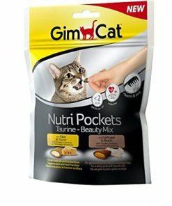 GimCat Nutri Pockets Taurine-Beauty Mix, 150 g