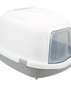 Primo Xxl Top Kattetoilet, 56 × 47 × 71 Cm, Grå/Hvid