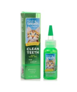CLEAN TEETH TropiClean, Oral Care Gel For Cat, 59ml.