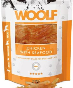 Woolf Chicken And Seafood 100G