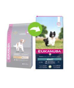 Euk Adult Small & Medium Lamb & Rice 2,5 kg
