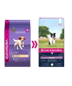 Euk Puppy Small & Medium Lamb & Rice 12 kg