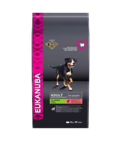 Euk Adult All Breeds Salmon & Rice 12 kg