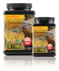 Landskillpaddefôr voksen 570Gr Soft Pellets Exoterra