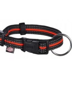 Fusion Halsb, L/Xl 40-65 Cm/25 Mm Sort/Orange