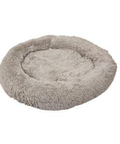 Donut seng,  Medium Ø76cm, Grå
