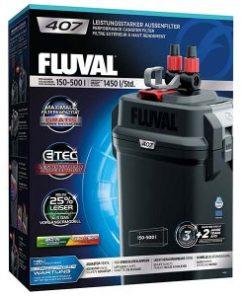 FLUVAL 407, Ytterfilter, 150 - 500L