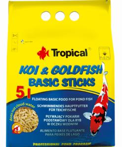 Tropical Koi & Goldfish Basic Sticks 5L/400G