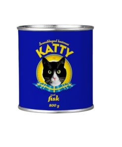 Katty Fisk,  800 gr boks