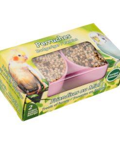 Fuglesnacks i skåler, 2pkn. frø og honning
