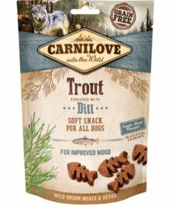 Dog Semi Moist Snack Trout 200G