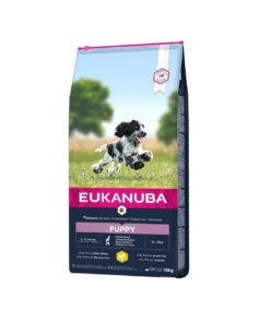 EUK Growing Puppy Medium, 15kg.