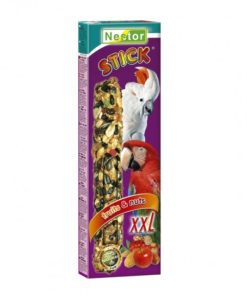 Nestor XXL papegøyesticks , frukt&nøtter 165gr