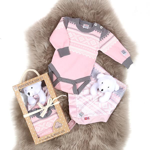 Marius Kids New Born Set Lotus Pink